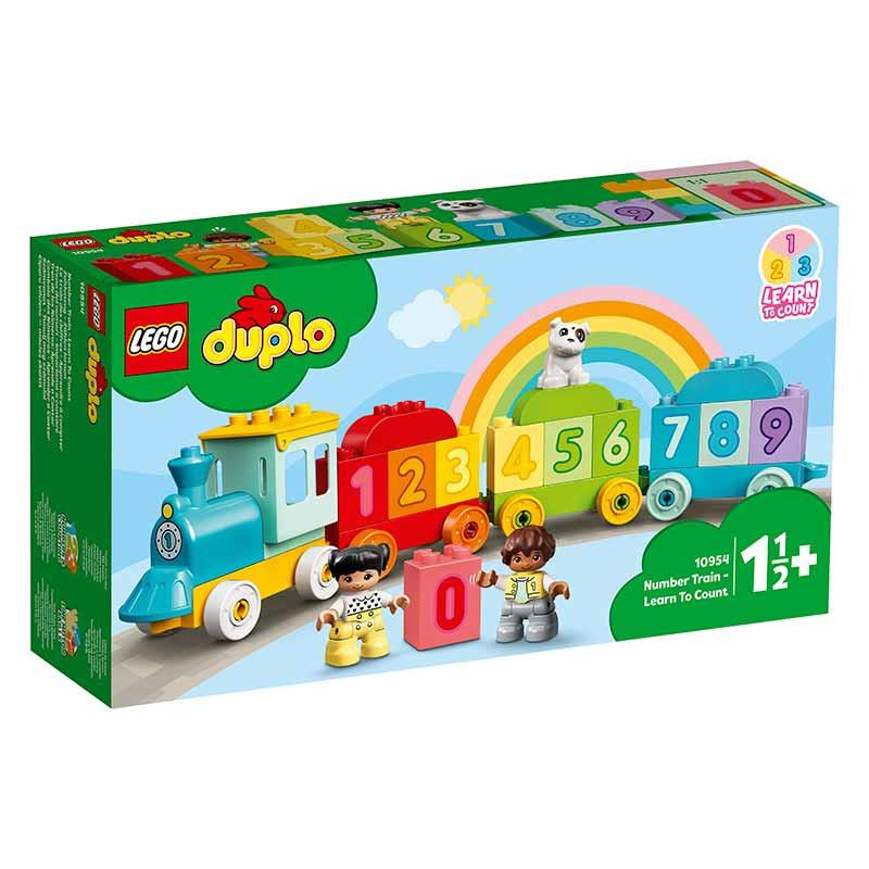 Lego Duplo Tren de los Números Aprende a Contar