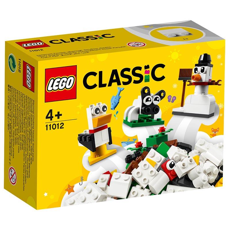 Lego Classic ladrillos creativos blancos