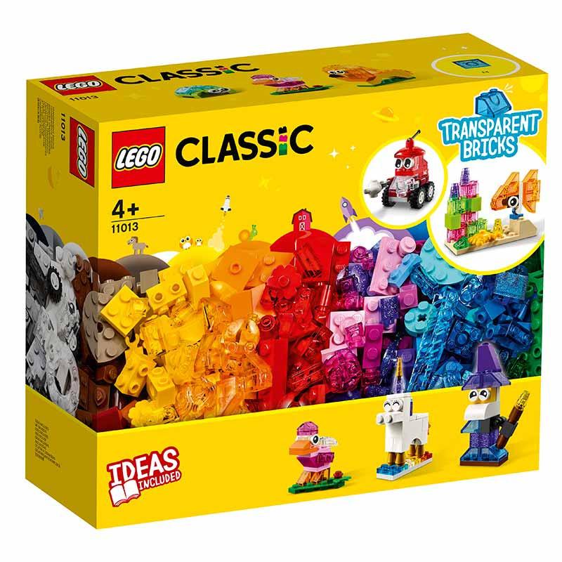 Lego Classic Ladrillos Creativos Transparentes