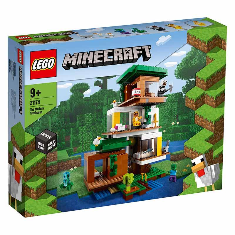 Lego Minecraft La Casa del Árbol Moderna