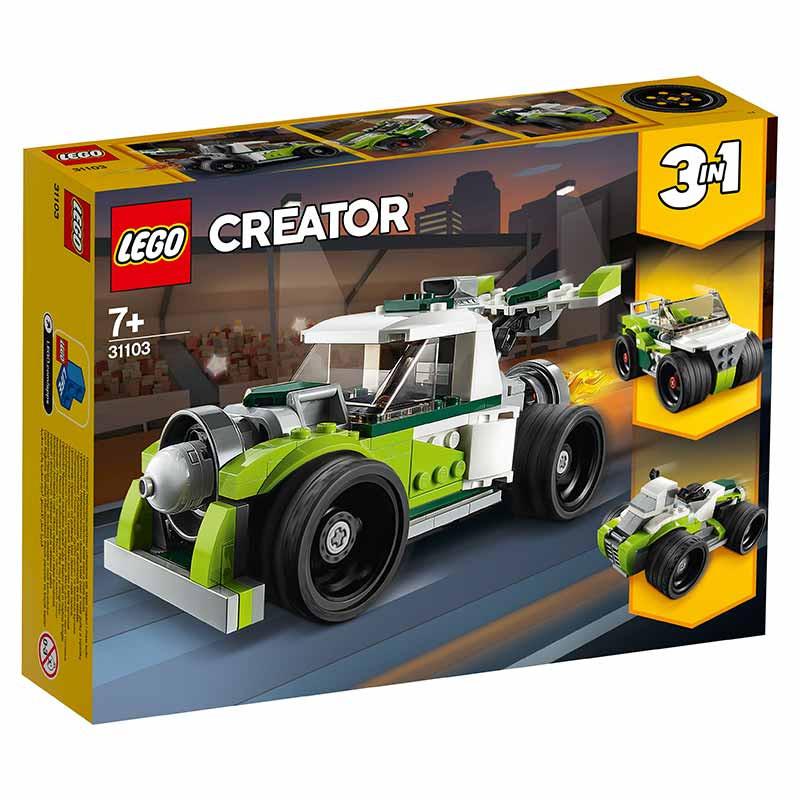 Lego Creator Camión a Reacción