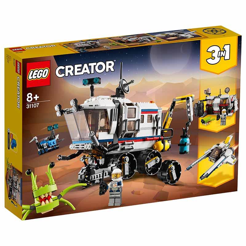 Lego Creator Róver explorador espacial