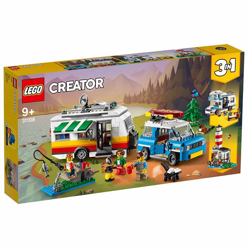 Lego Creator vacaciones familiares en caravana