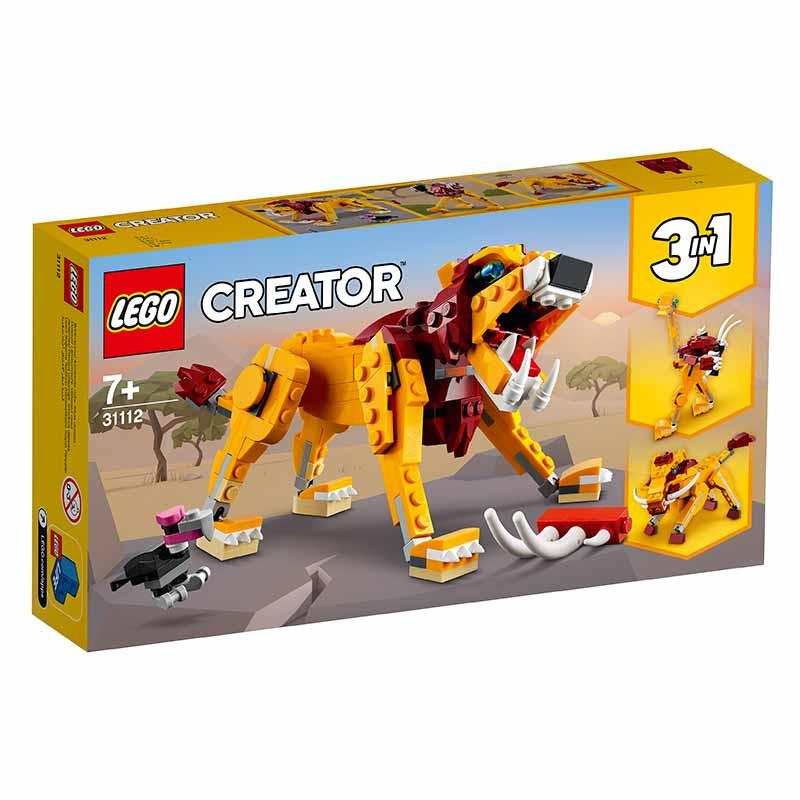 Lego Creator León Salvaje