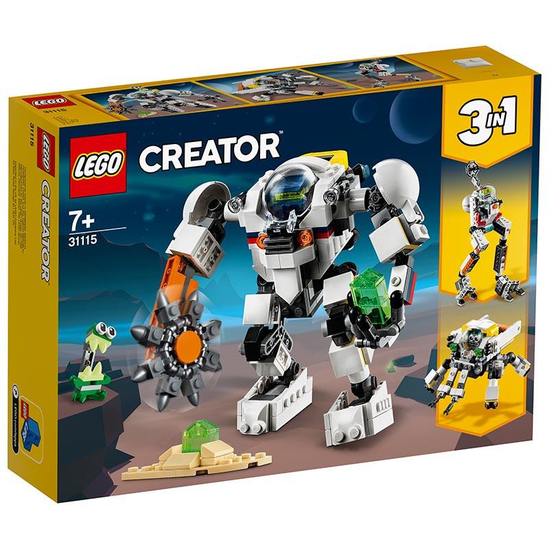 Lego Creator Meca minero espacial