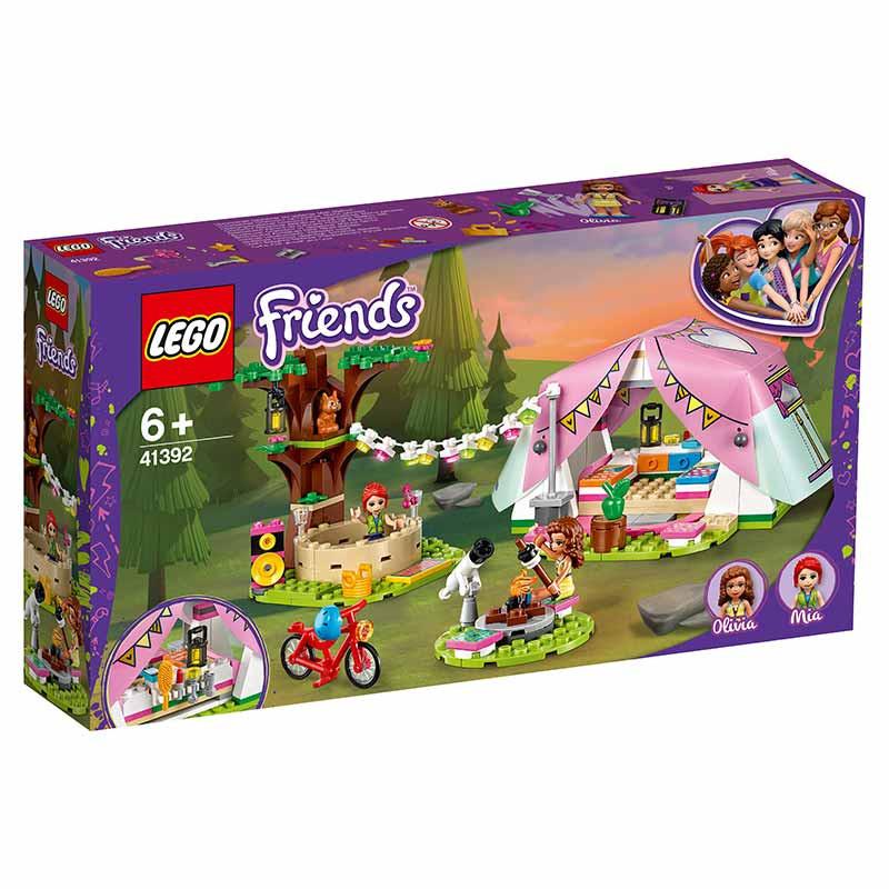 Lego Friends Glamping en la Naturaleza
