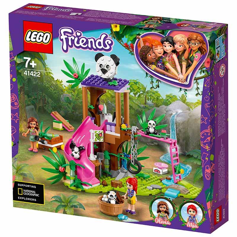 Lego Friends Casa del Árbol Panda en la Jungla