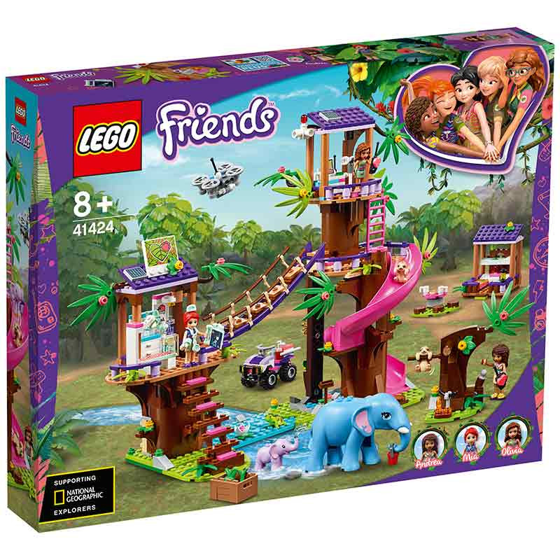 Lego Friends Base de Rescate en la Jungla