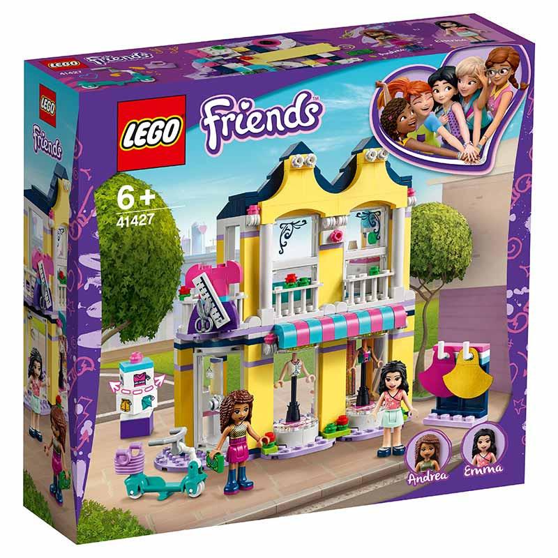 Lego Friends tienda de moda de Emma