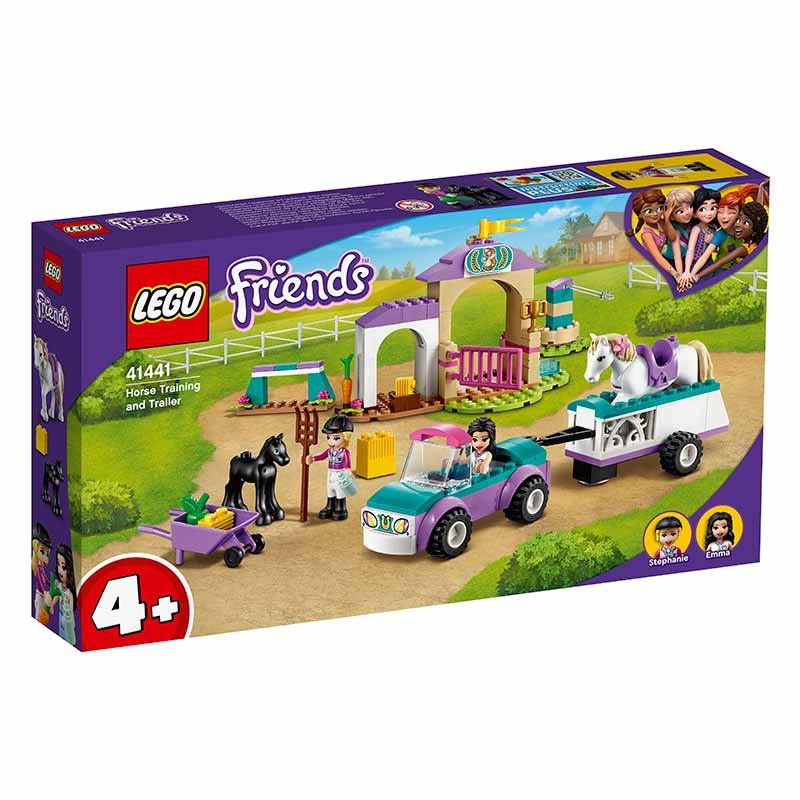 Lego Friends entrenamiento y remolque ecuestre