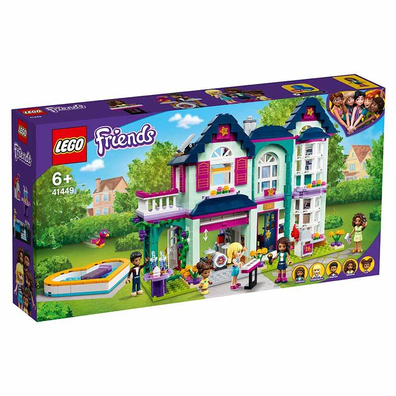 Lego Friends Casa da Família da Andrea