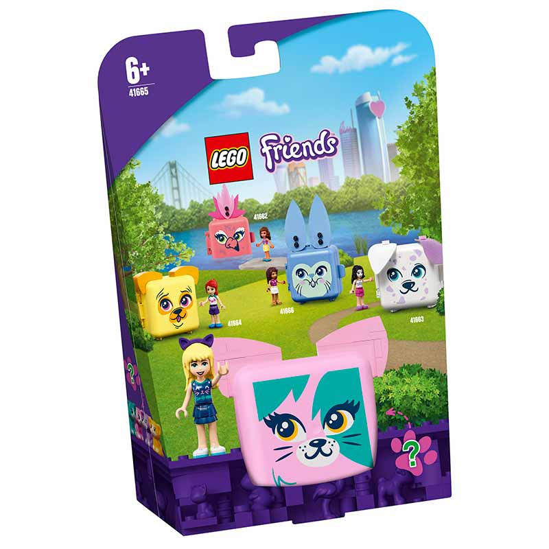 Lego Friends Cubo-Gatito de Stephanie