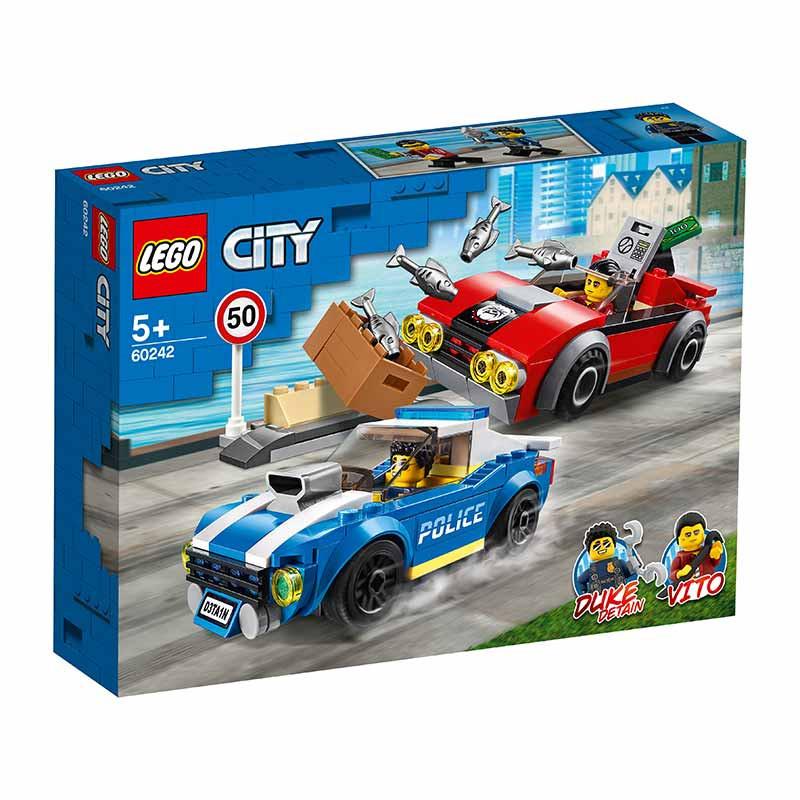 Lego City Policía: Arresto en la Autopista