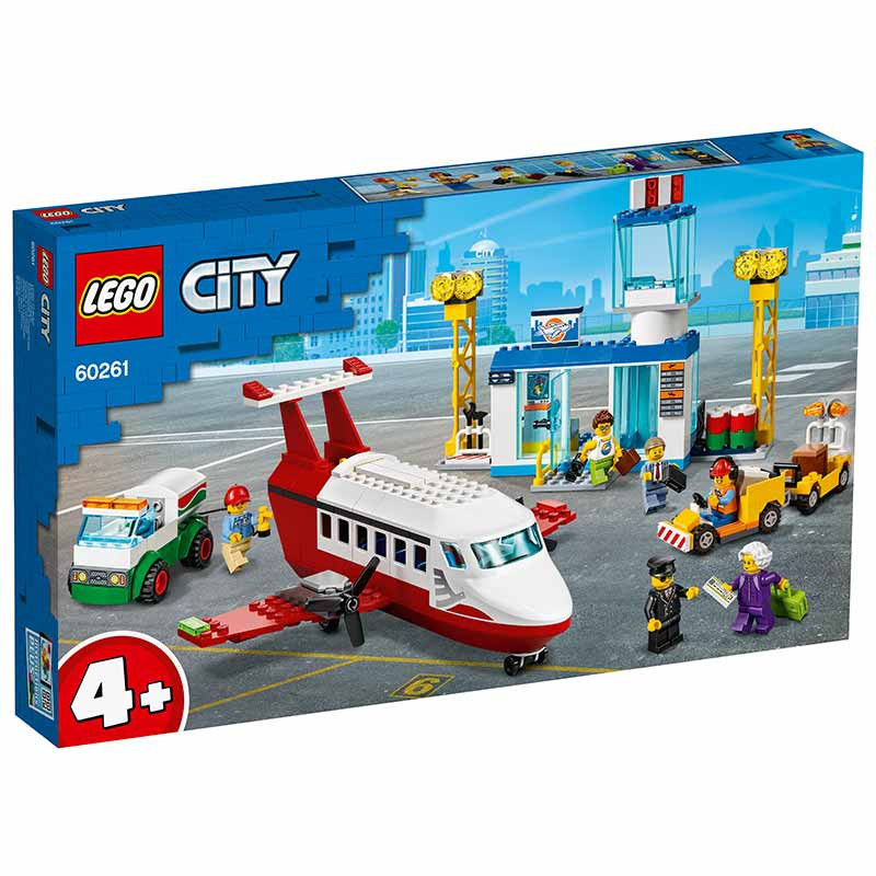 Lego City aeropuerto central