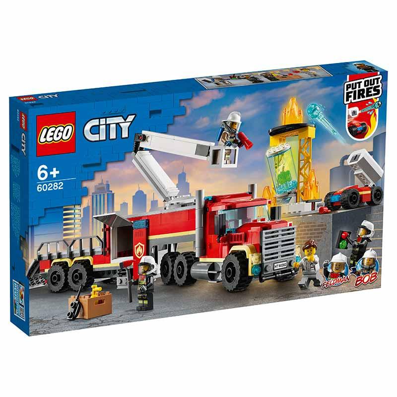 Lego City Unidad de Control de Incendios
