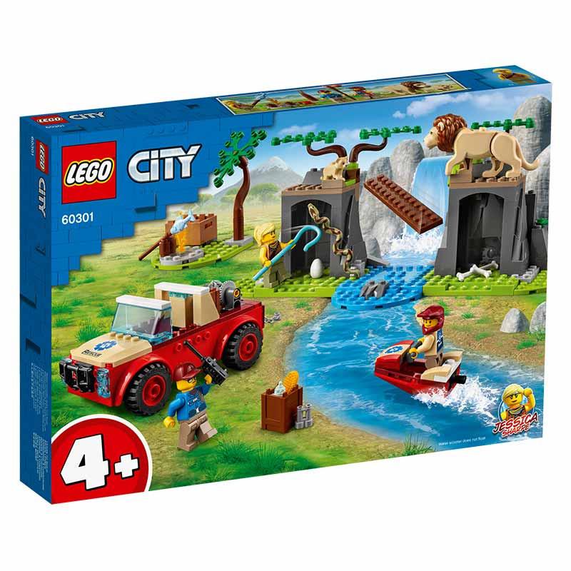 Lego City Rescate de la Fauna Salvaje Todoterreno