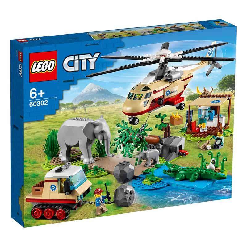 Lego City Rescate de la Fauna Salvaje Operación