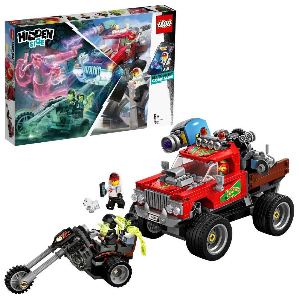 Lego Hidden camión acrobático de El Fuego