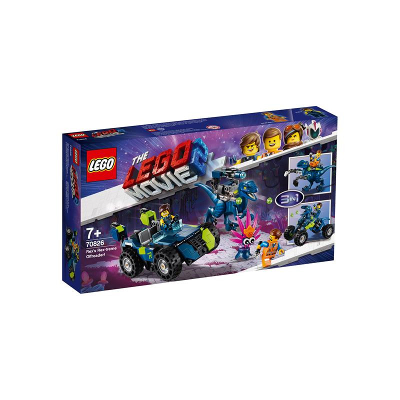 LEGO Movie 2 todoterreno Rextremo de Rex