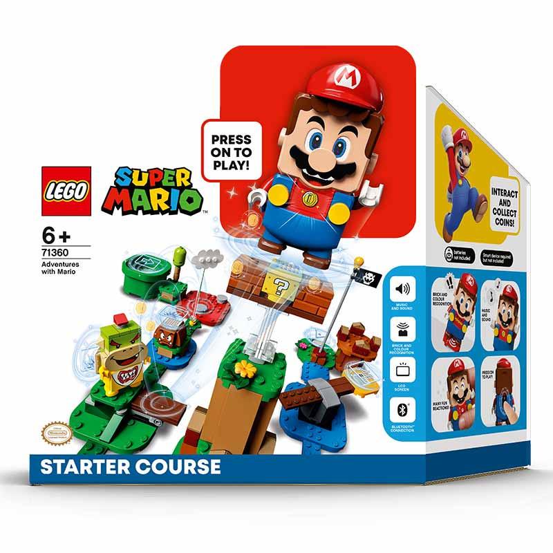 Lego Mario Bross pack inicial aventuras con Mario