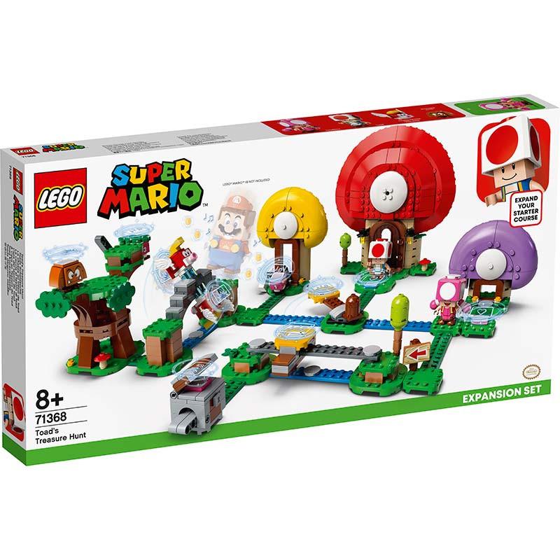 Lego Mario Bross caza del tesoro de Toad
