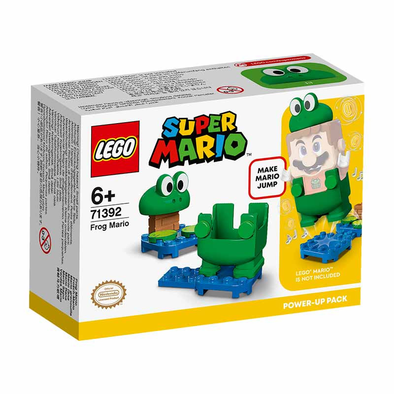 Lego Mario Pack Potenciador Mario Rana