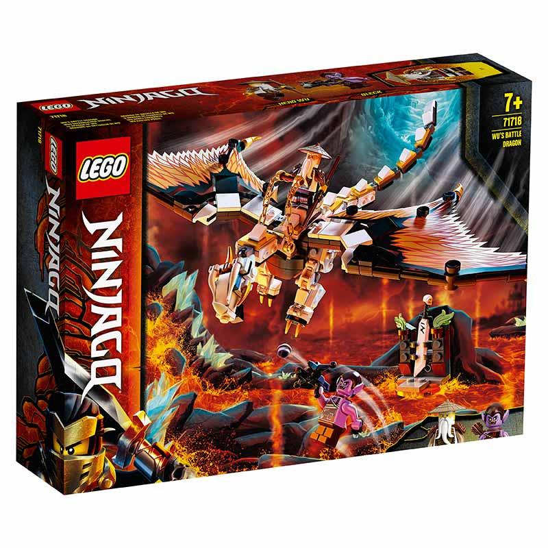 Lego Ninjago Dragón de batalla Wu