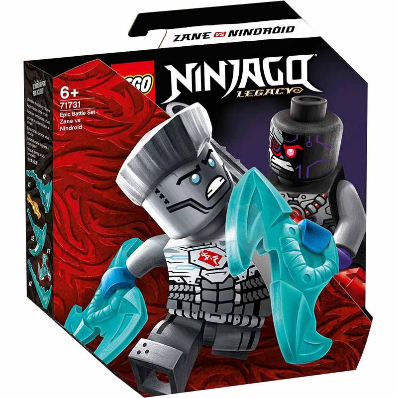 Lego Ninjago Batalla Legendaria Zane vs Nindroide