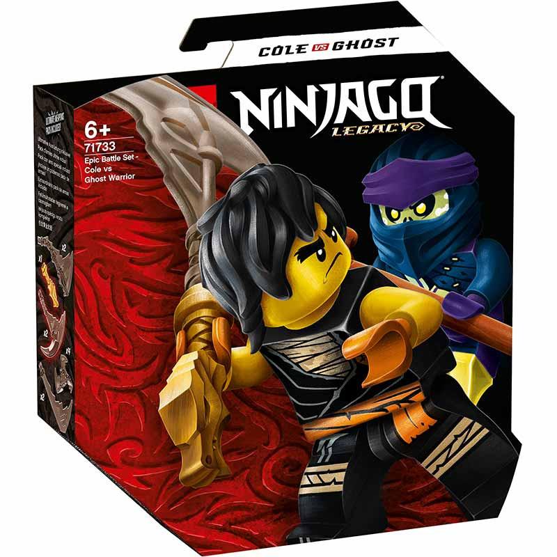 Lego Ninjago Batalla Legendaria Cole vs Guerrero