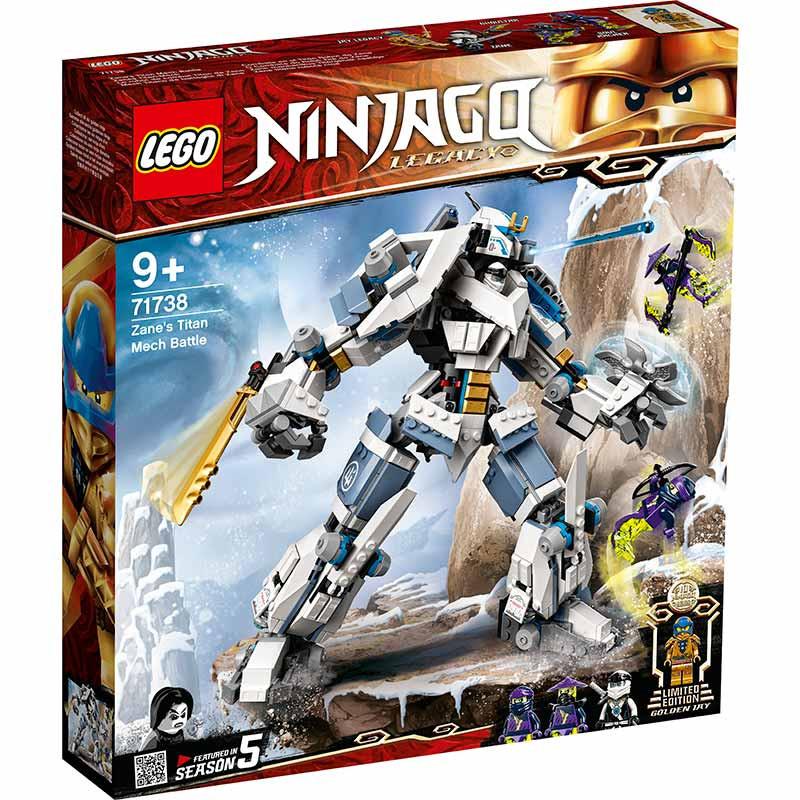Lego Ninjago Combate en el Titán Robot de Zane