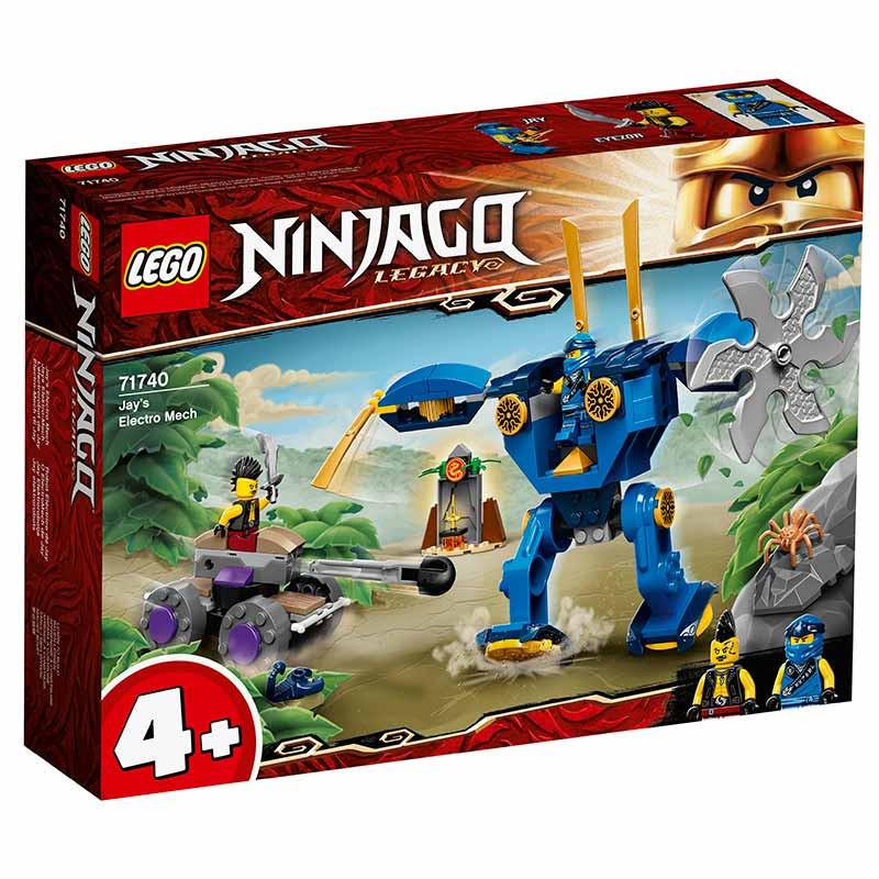 Lego Ninjago robot eléctrico de Jay
