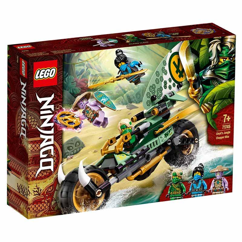 Lego Ninjago chopper de la jungla de Lloyd