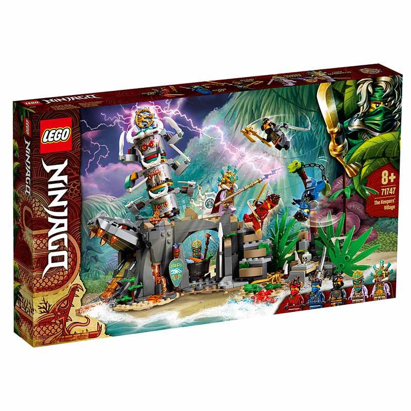 Lego Ninjago aldea de los guardianes