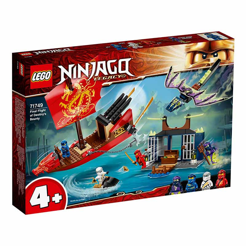 Lego Ninjago Vuelo Final del Barco de Asalto Ninja