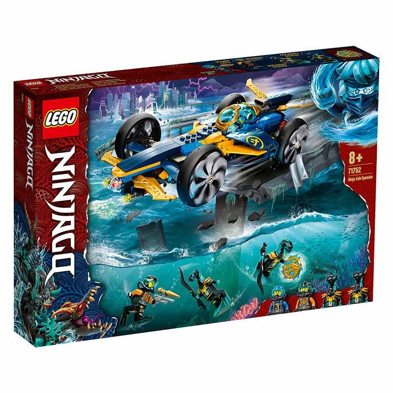 Lego Ninjago Submarino Anfibio Ninja