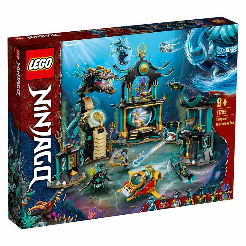 Lego Ninjago Templo del Mar Infinito