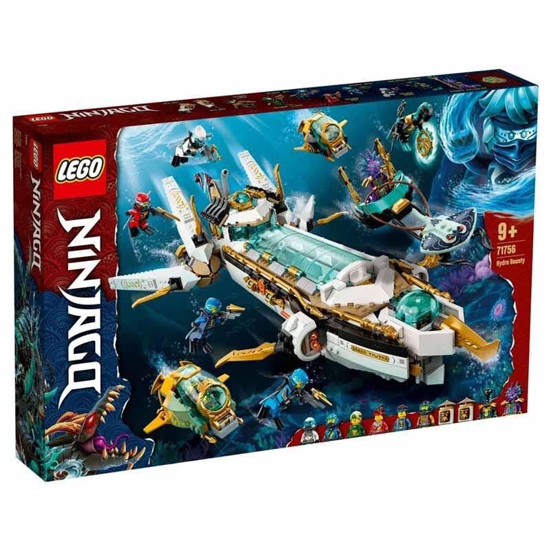 Lego Ninjago Barco de Asalto Hidro