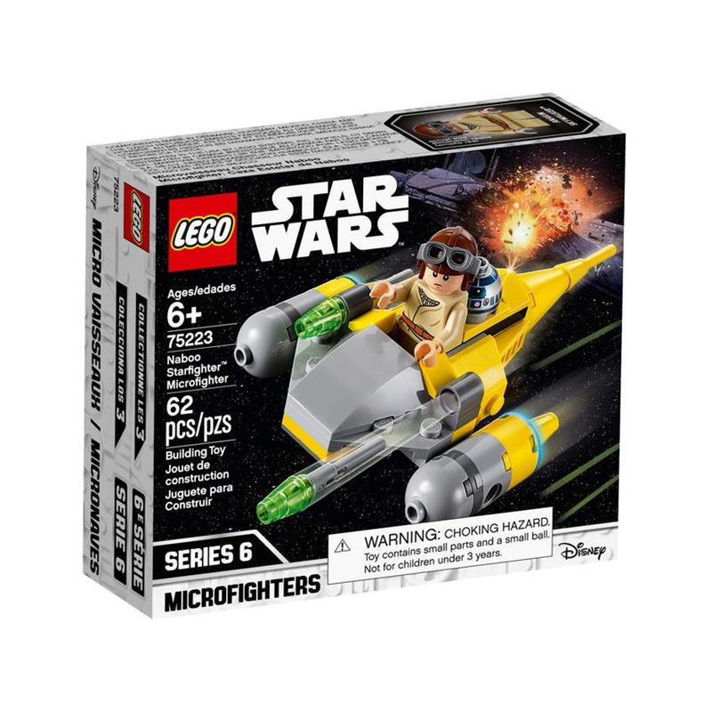 LEGO Star Wars microfighter caza estelar Naboo