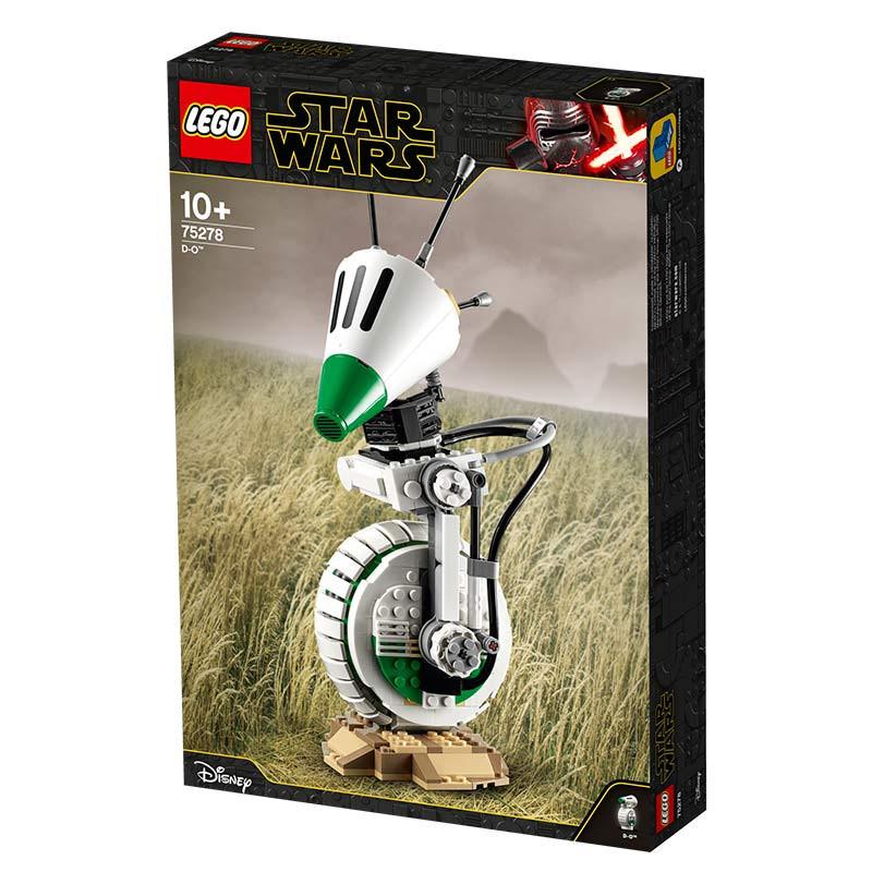 Lego Star Wars casco piloto caza TIE