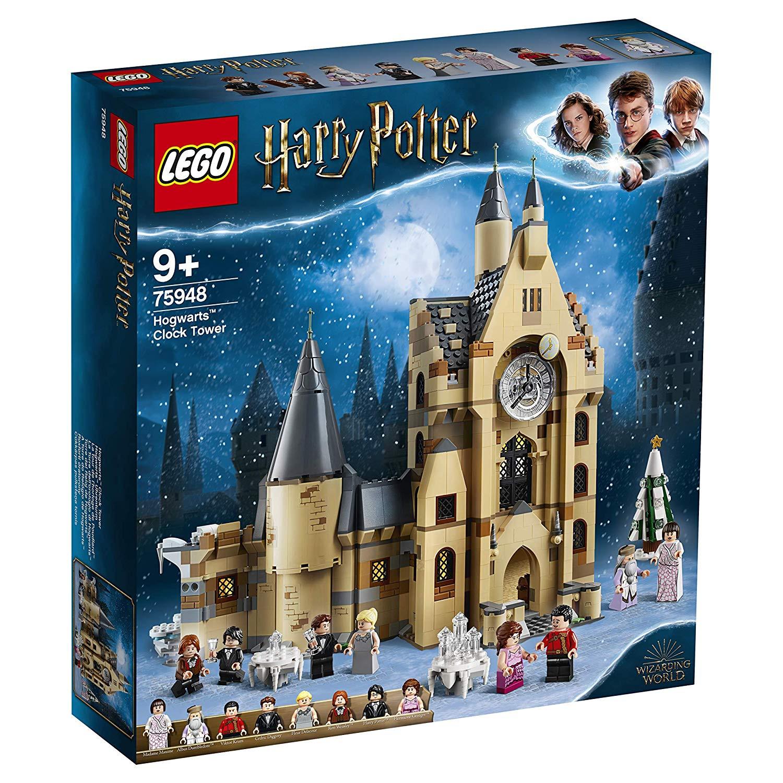 Lego Harry Potter torre del reloj de Hogwarts
