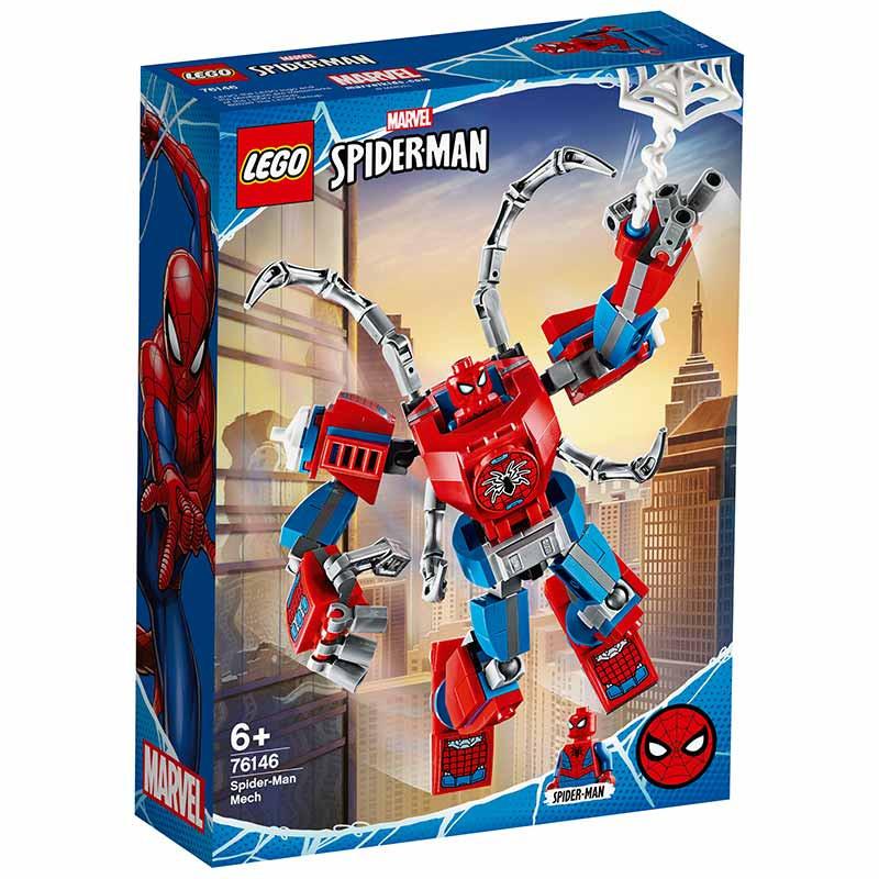 Lego Super Héroes Armadura Robótica de Spider-Man