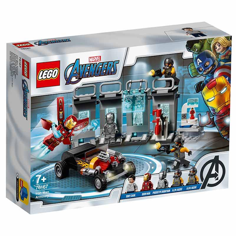 Lego Súper Héroes Armería de Iron Man