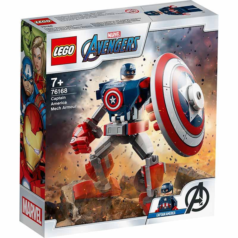 Lego Súper héroes Armadura Capitán América
