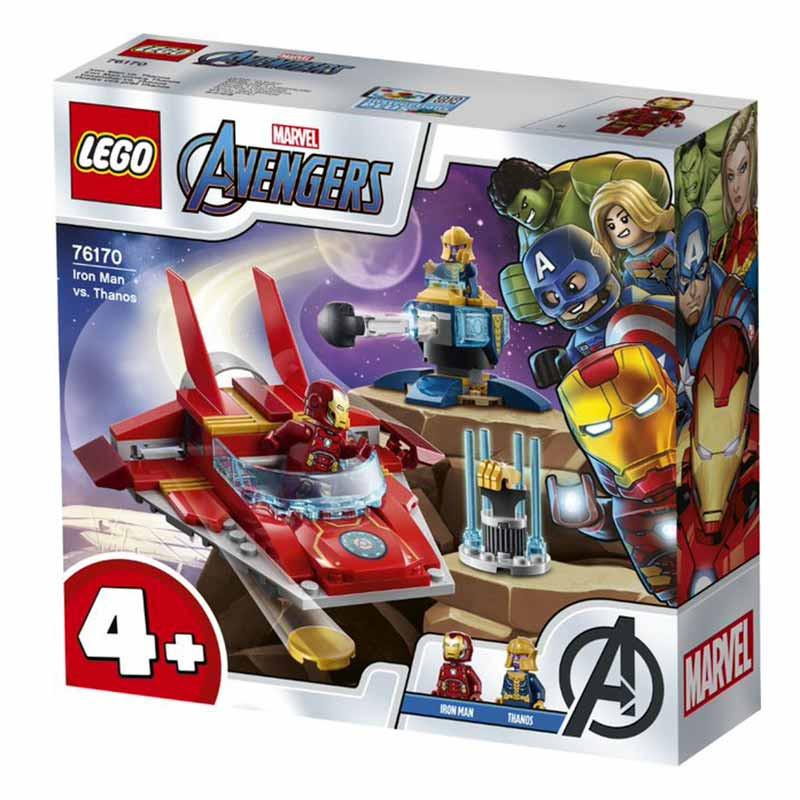 Lego Súper héroes Iron Man vs. Thanos
