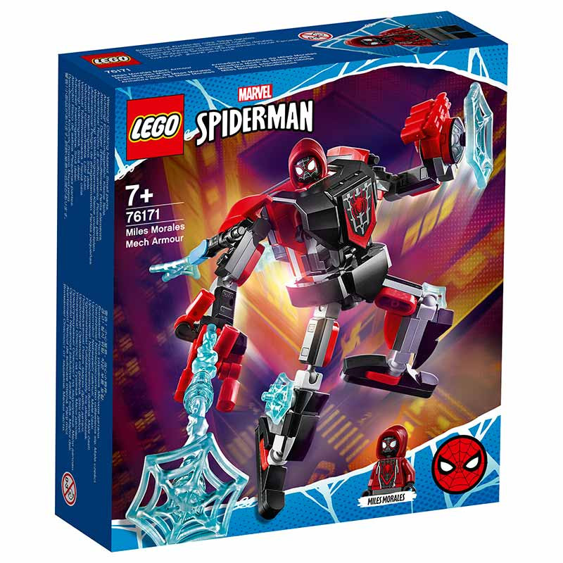 Lego Súper Héroes Armadura Miles Morales