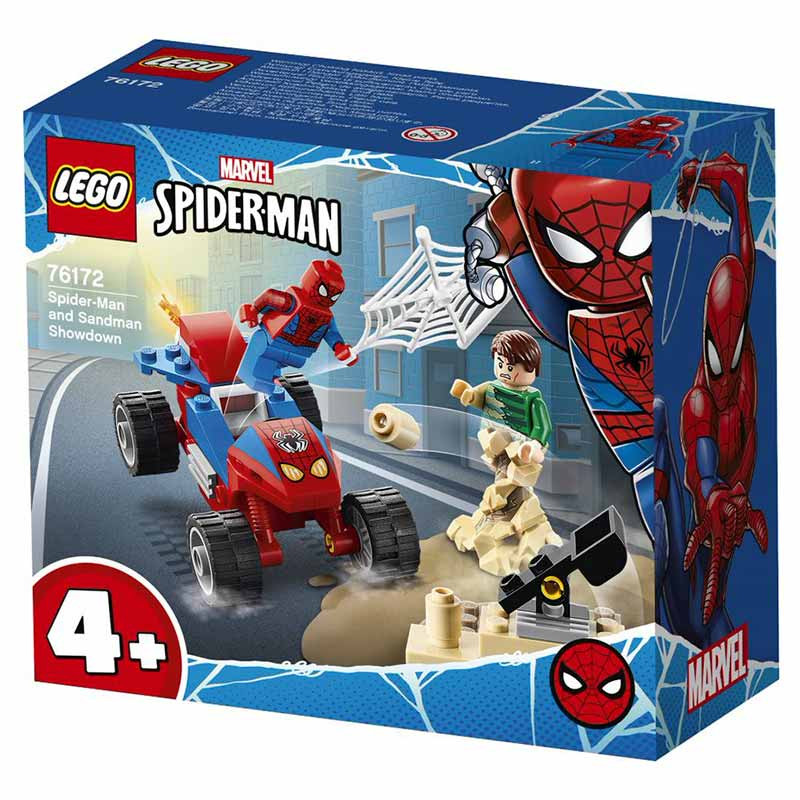 Lego Súper héroes Duelo de Spider-Man e Sandeman