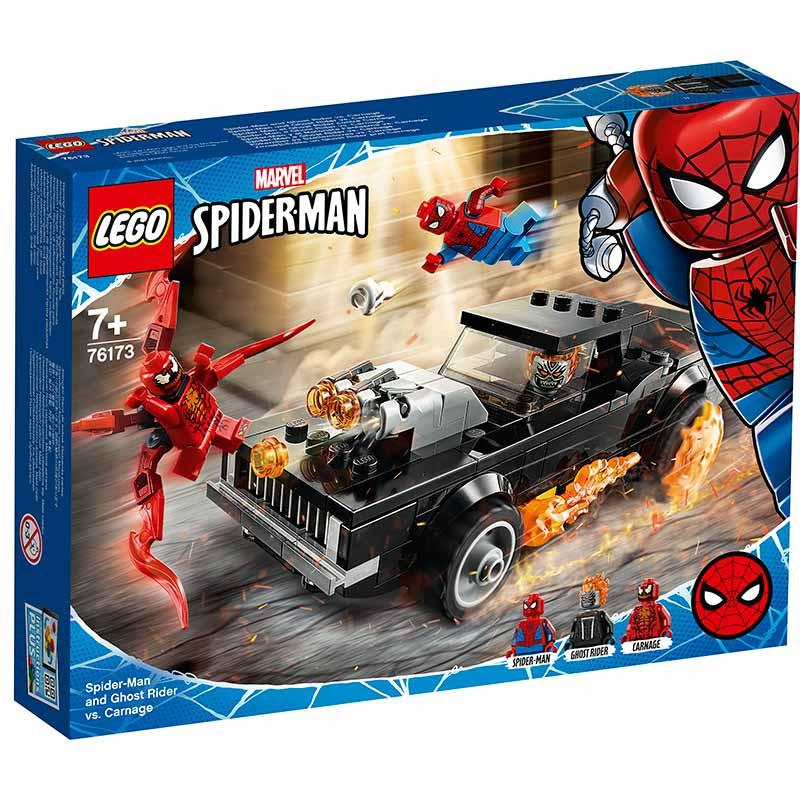 Lego Súper Héroes Spiderman Motorista vs Carnage