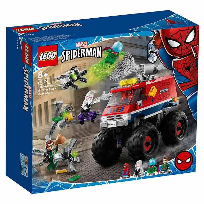 Lego Súper Héroes Monster Truck Spiderman-Mysterio