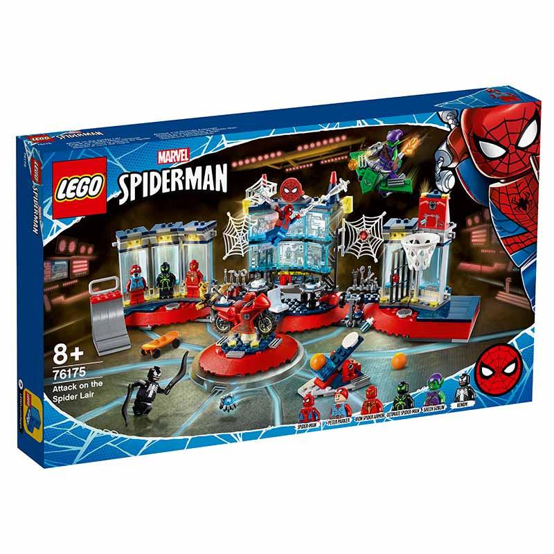 Lego Súper héroes  Ataque a la Guarida Arácnida