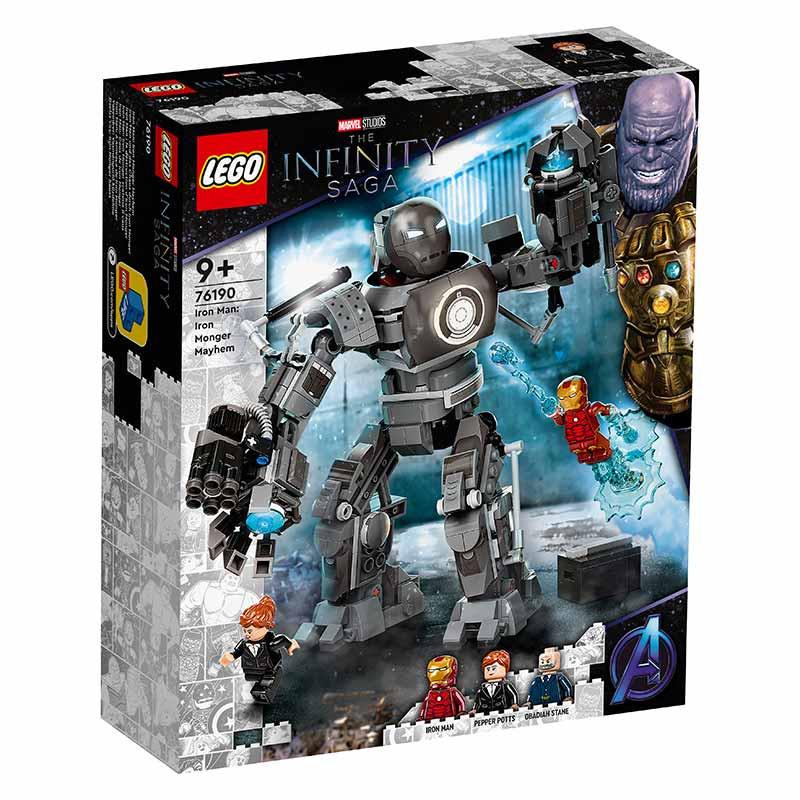 Lego Súper héroes Iron Man Caos de Iron Monger